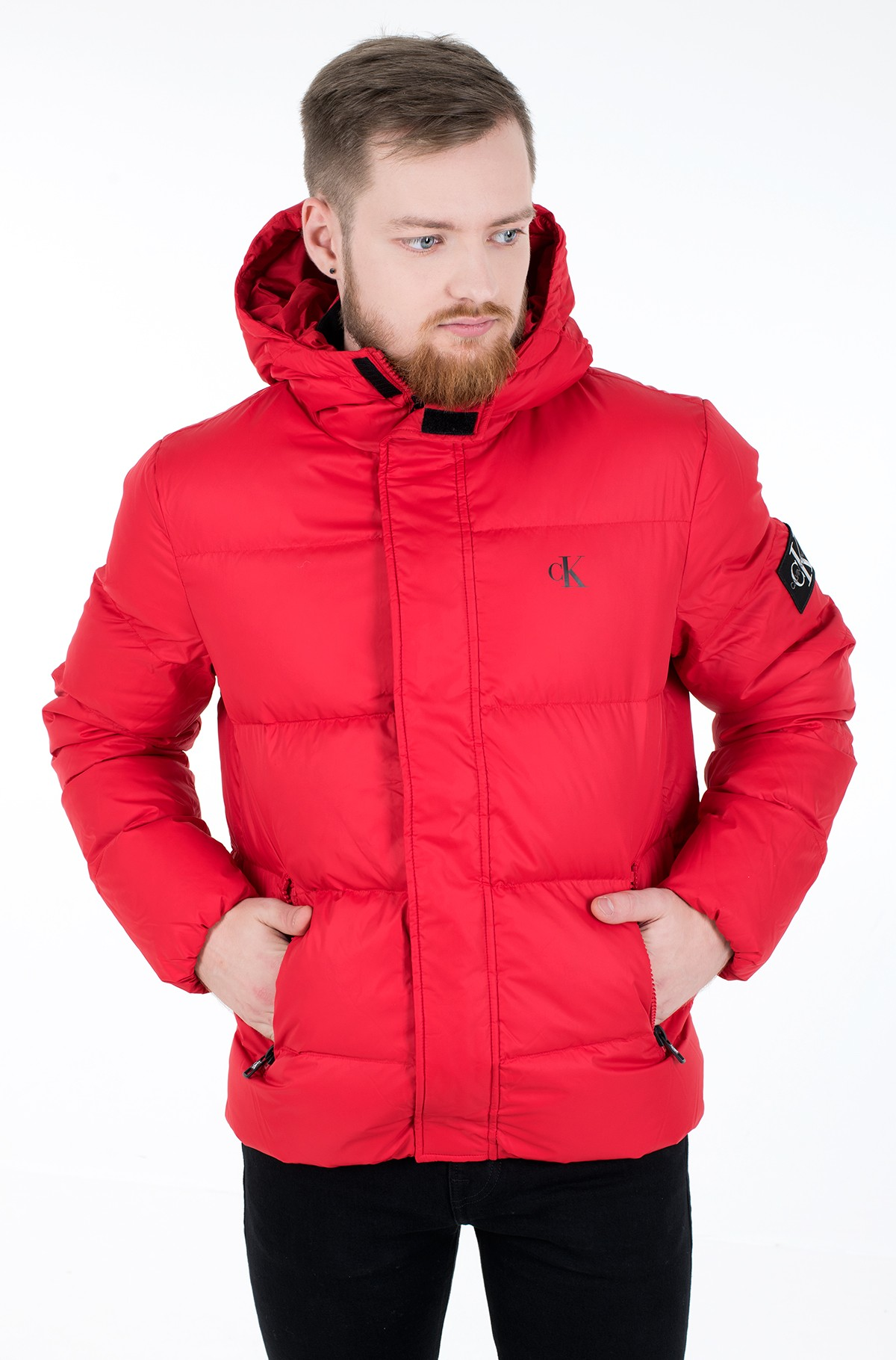 Jope HOODED DOWN PUFFER JACKET-full-2