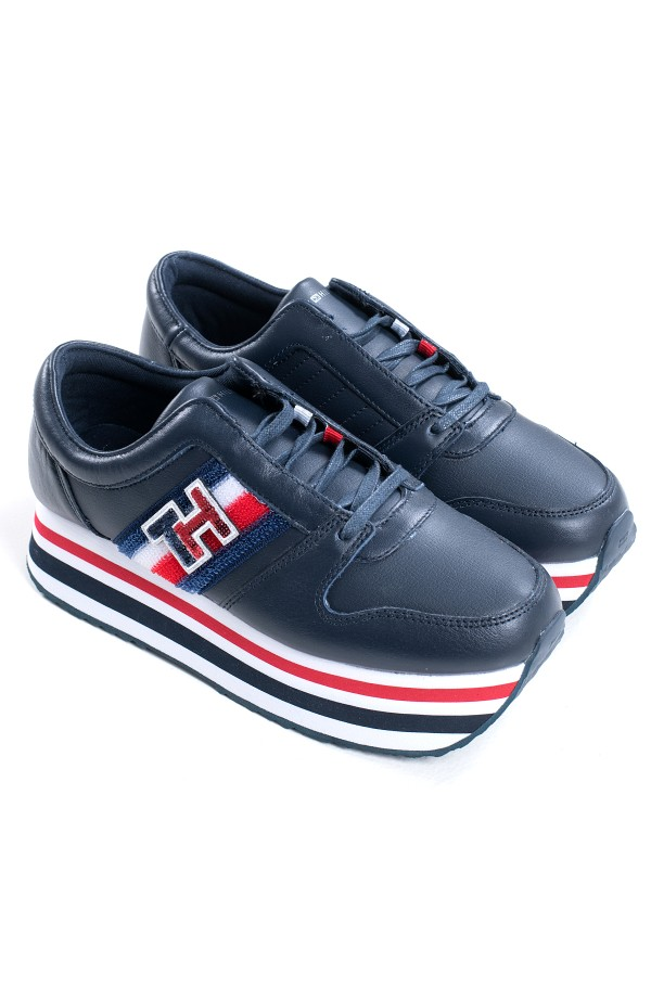 TOMMY CUSTOMIZE FLATFORM SNEAKER