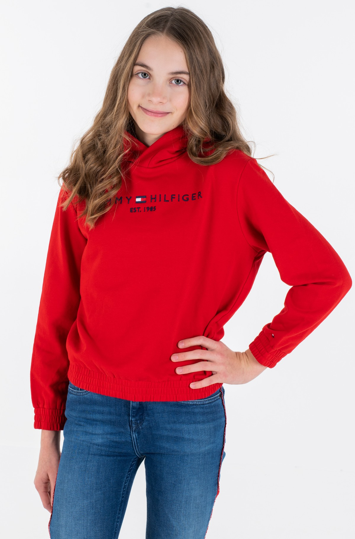 Laste dressipluus ESSENTIAL HOODED SWEATSHIRT-full-2