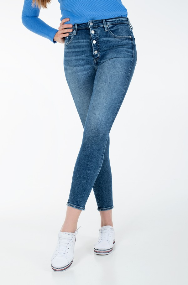 HIGH RISE SUPER SKINNY ANKLE J20J214555