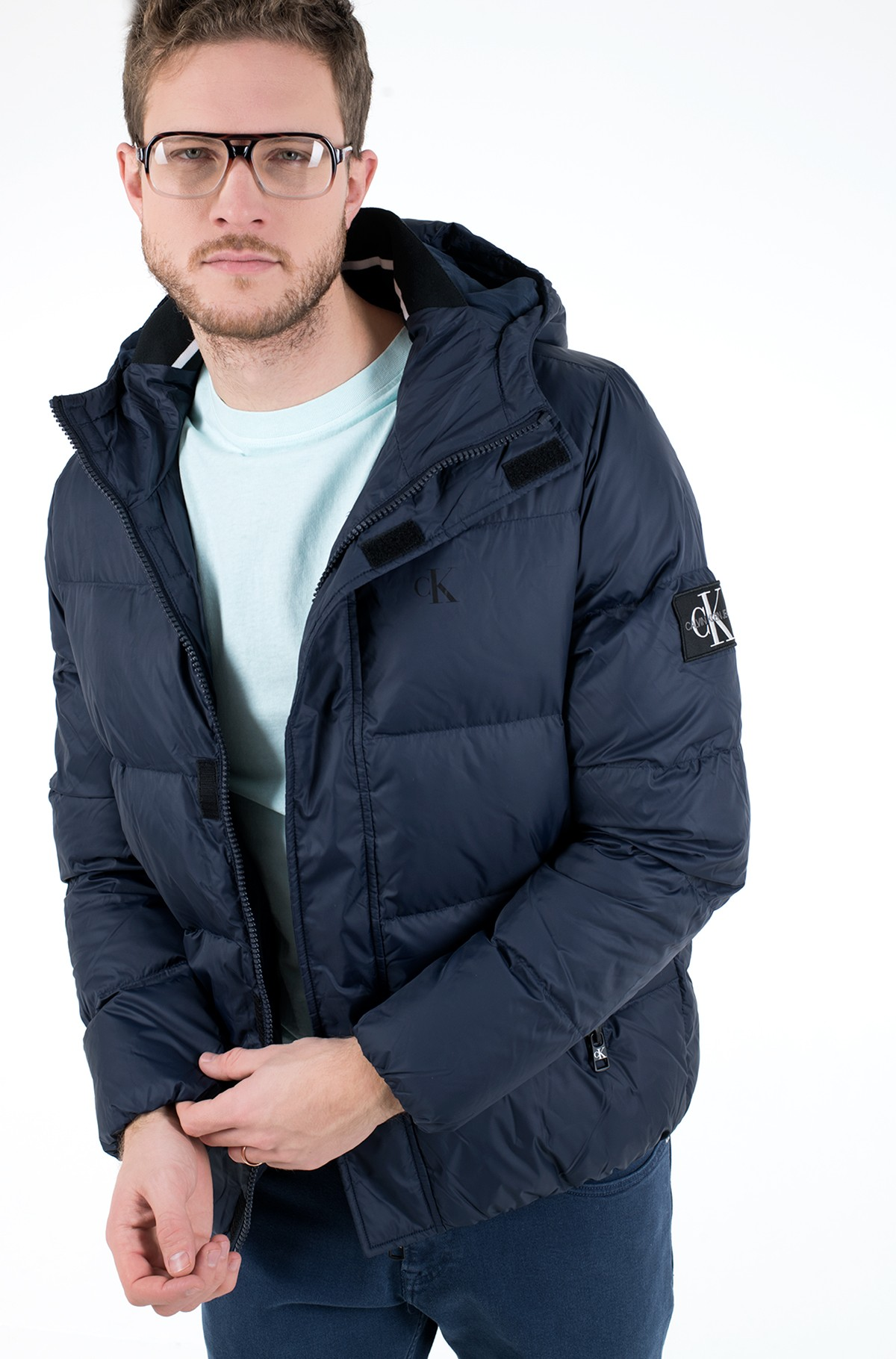 Striukė HOODED DOWN PUFFER JACKET-full-1