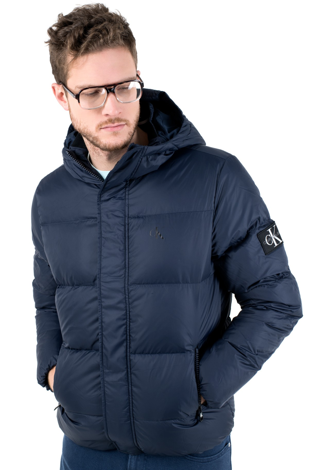 Striukė HOODED DOWN PUFFER JACKET-full-2