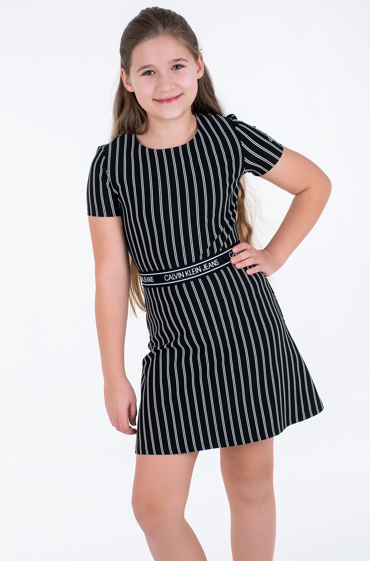 Bērnu kleita CITY STRIPE DRESS-full-1