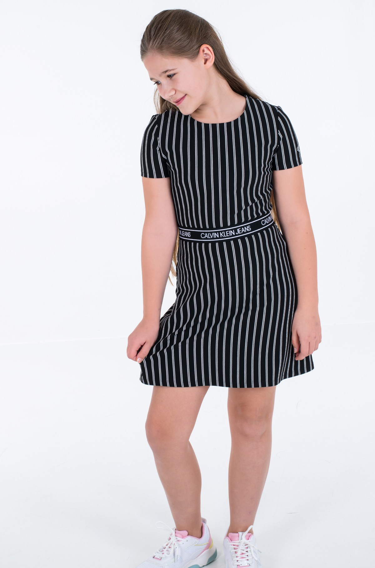 Bērnu kleita CITY STRIPE DRESS-full-2