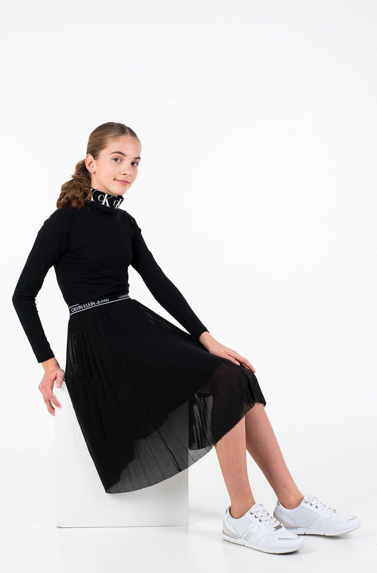 Vaikiškas sijonas FINE MESH MIDI SKIRT-full-1