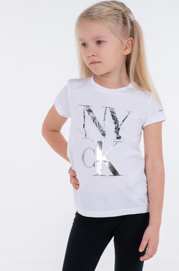 NY CK PRINT SLIM T-SHIRT-hover