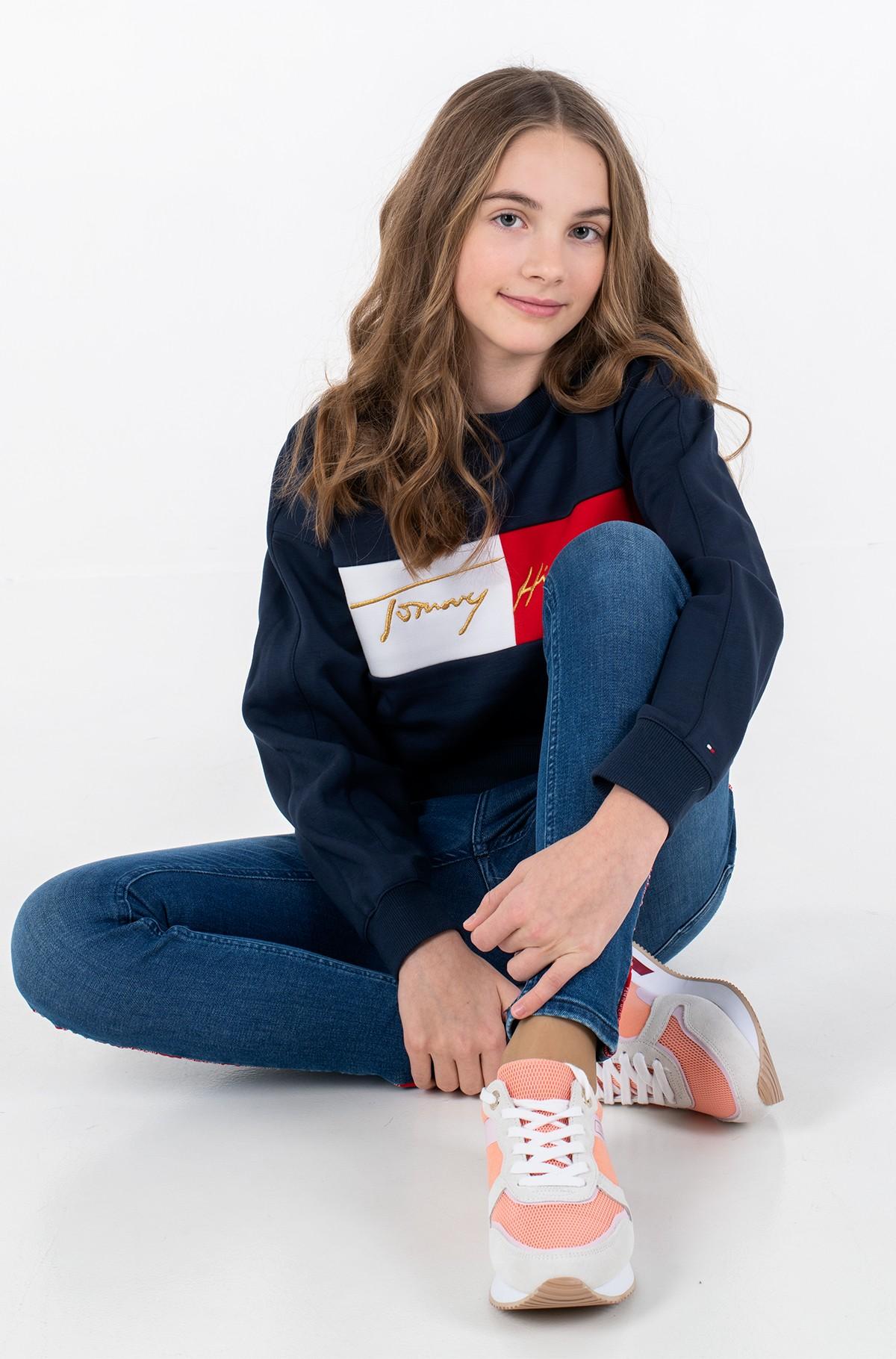 Bērnu sporta krekls ICONS LOGO CREW SWEATSHIRT-full-1