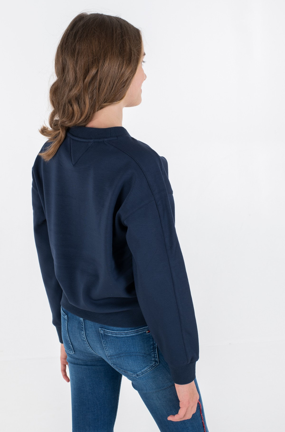 Bērnu sporta krekls ICONS LOGO CREW SWEATSHIRT-full-3