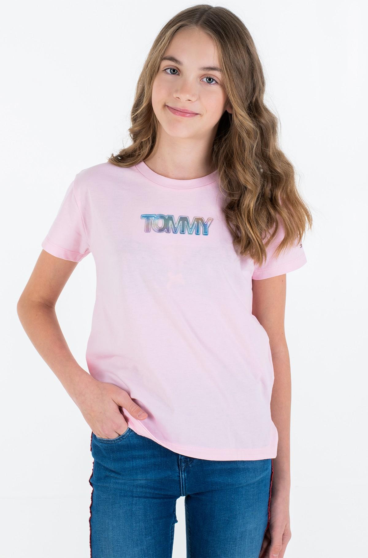T-krekls IRIDESCENT BADGE LOGO TEE S/S-full-2