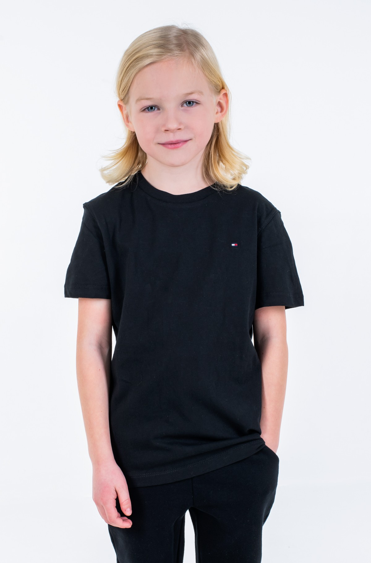 Laste t-särk BOYS BASIC CN KNIT S/S	-full-1
