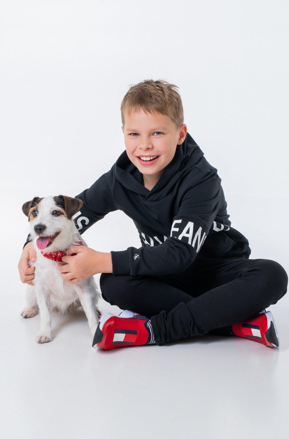 Children's sweatshirt STRETCH LOGO HOODIE-full-1