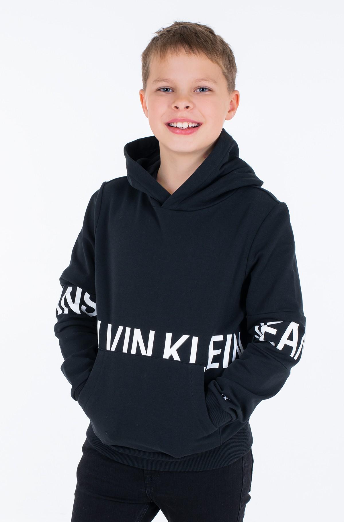 Children's sweatshirt STRETCH LOGO HOODIE-full-2