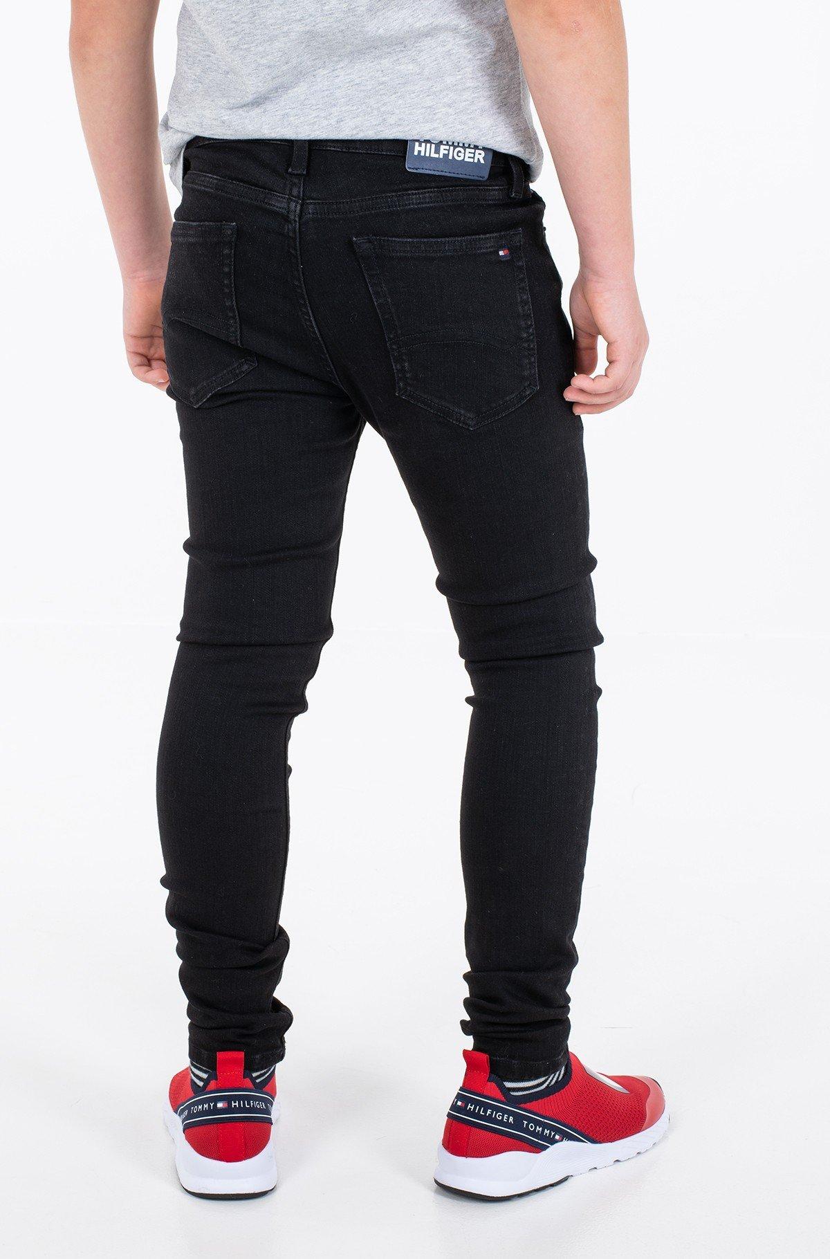 Vaikiškos džinsinės kelnės SIMON SUPER SKINNY WREPLBLS-full-3