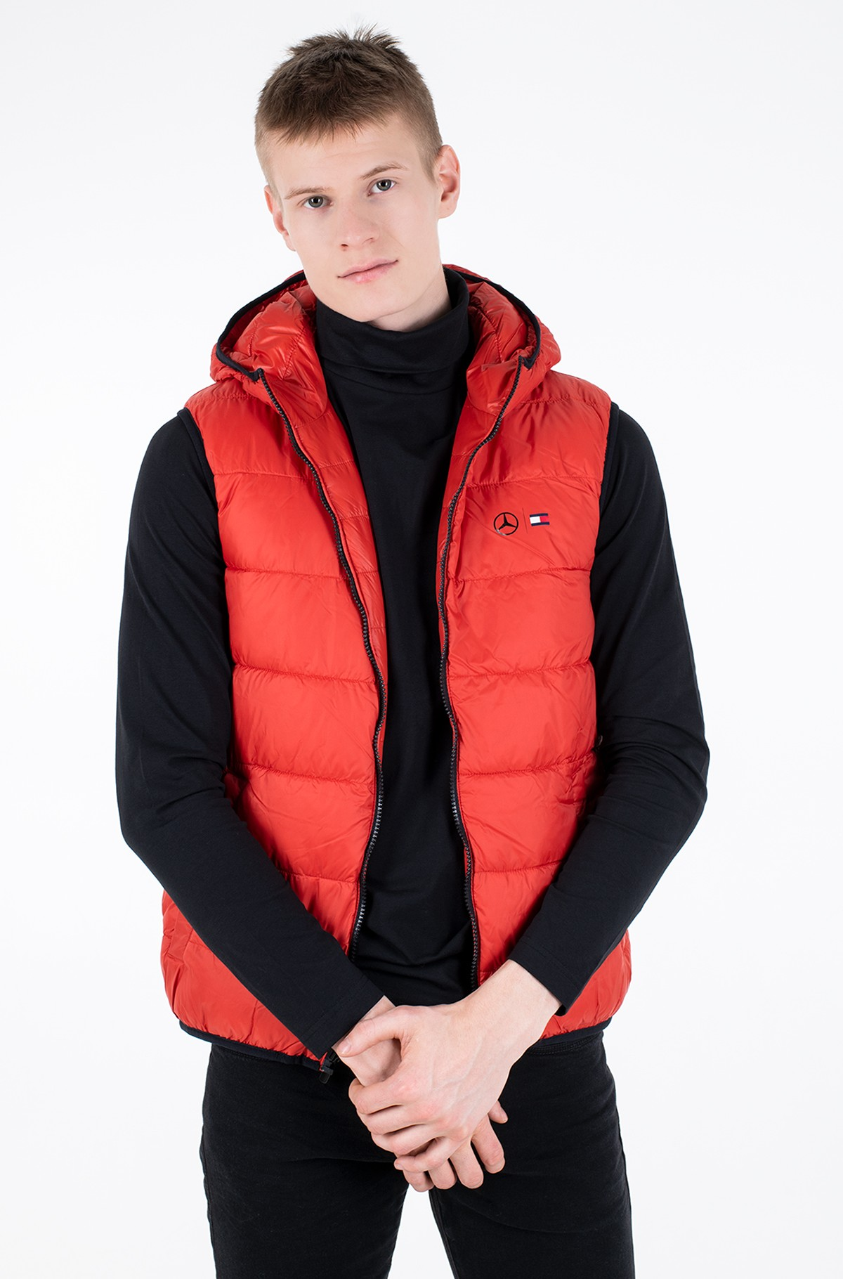 Vest 2 MB QUILTED REVERSIBLE GILET-full-1