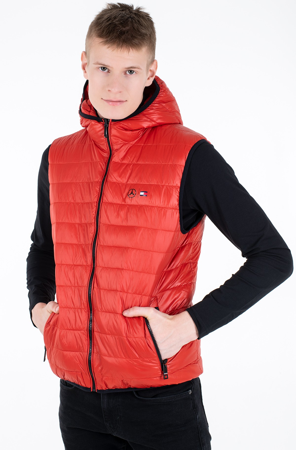 Vest 2 MB QUILTED REVERSIBLE GILET-full-2