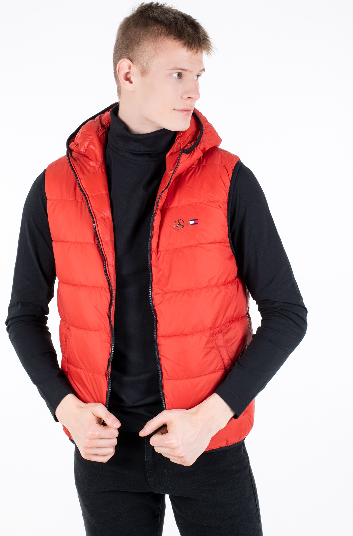 Vest 2 MB QUILTED REVERSIBLE GILET-full-3