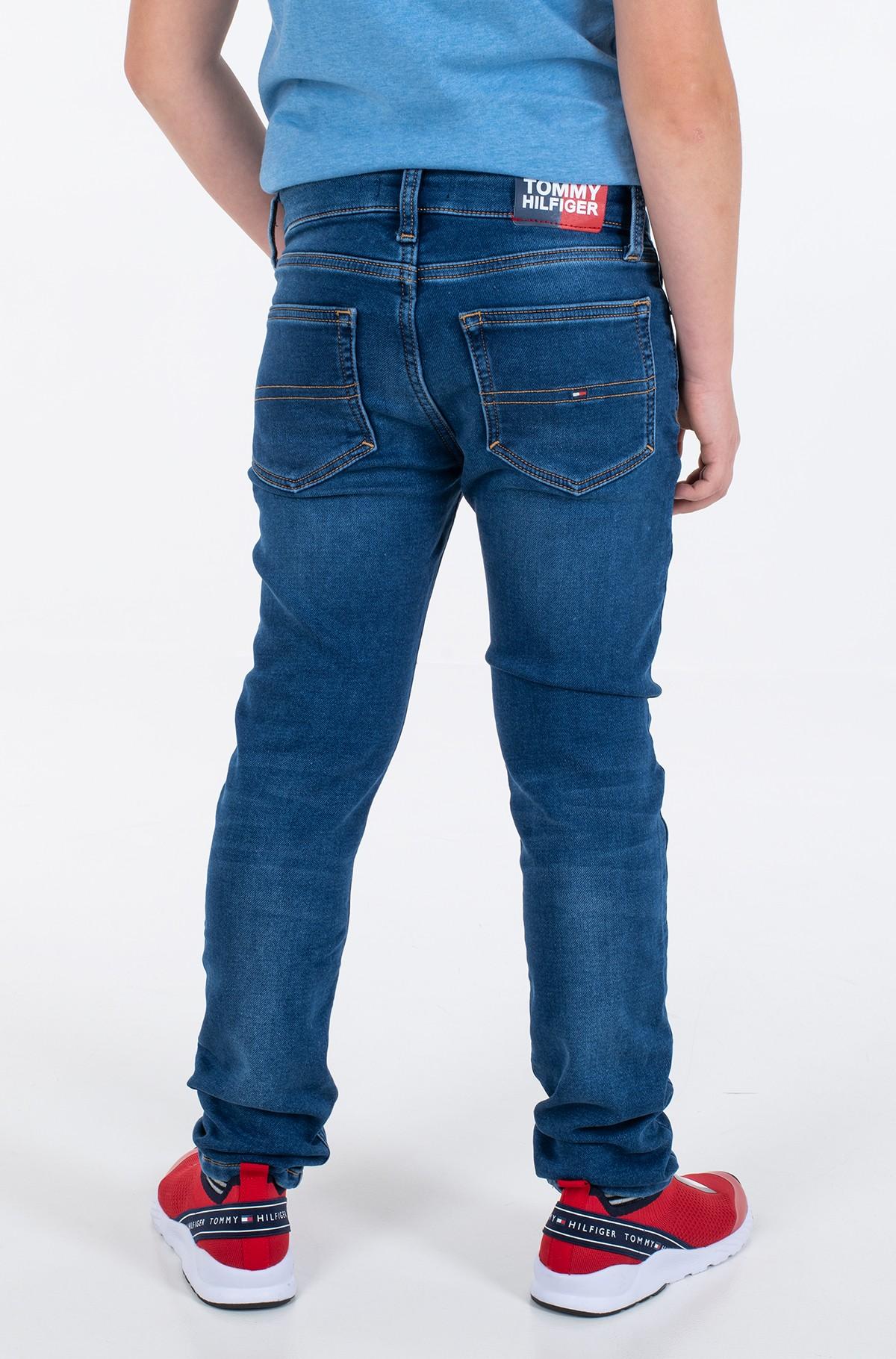 Vaikiškos džinsinės kelnės SCANTON SLIM BRUSHED - BRUBLDNM-full-2