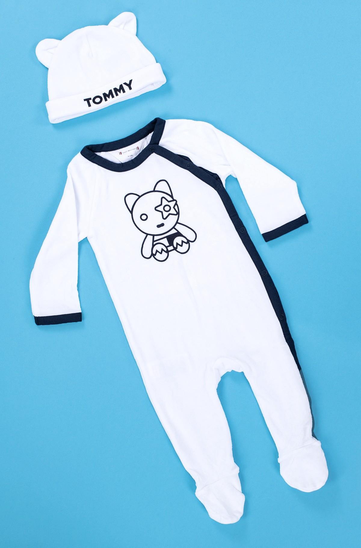 Kids' bodysuit in a gift box BABY VELOURS GIFTBOX-full-1
