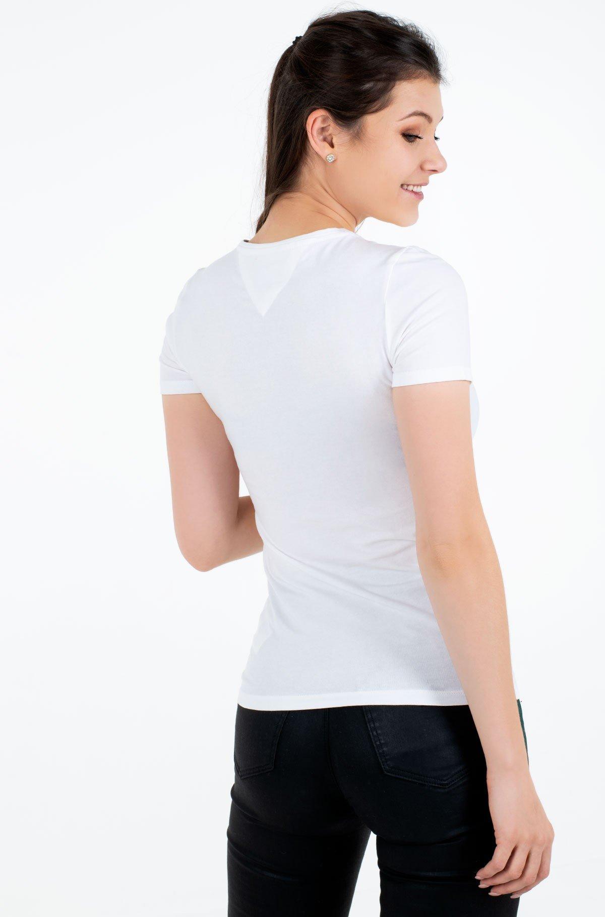 T-krekls TJW SKINNY STRETCH V NECK-full-2