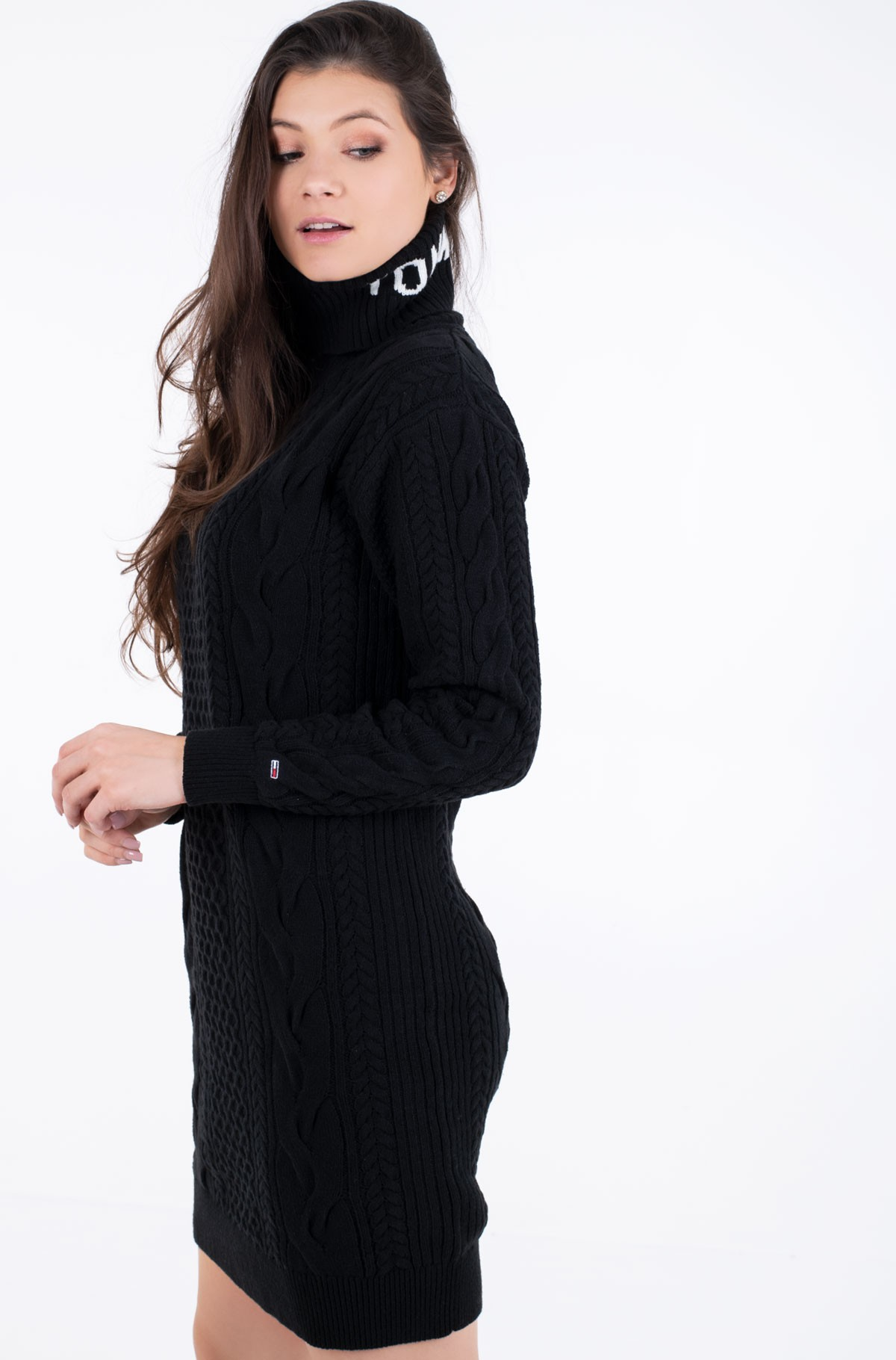 Adīta kleita TJW TURTLE NECK DRESS-full-2