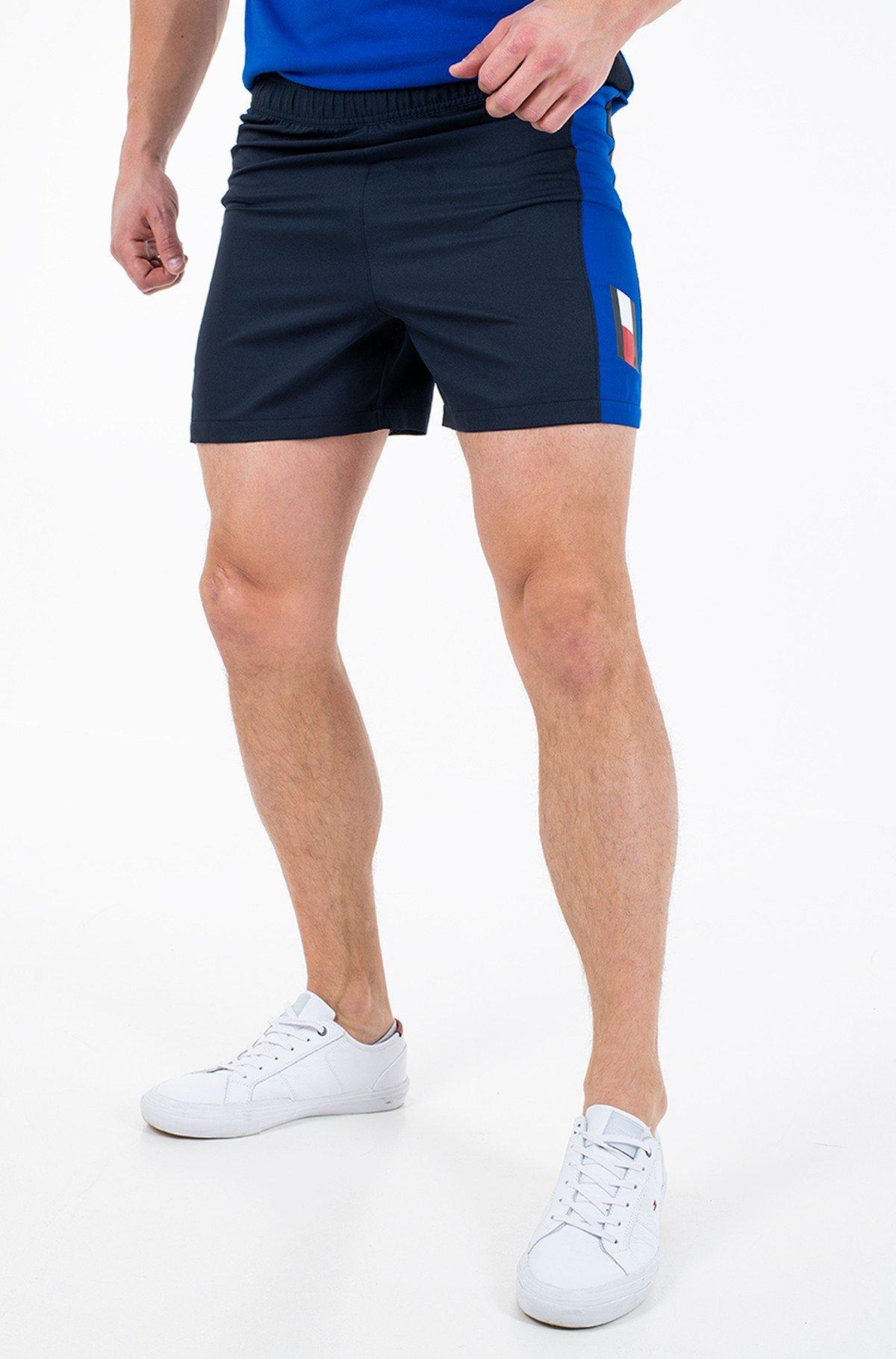 Lühikesed püksid TRAINING WOVEN BLOCKED SHORT 5'-full-1