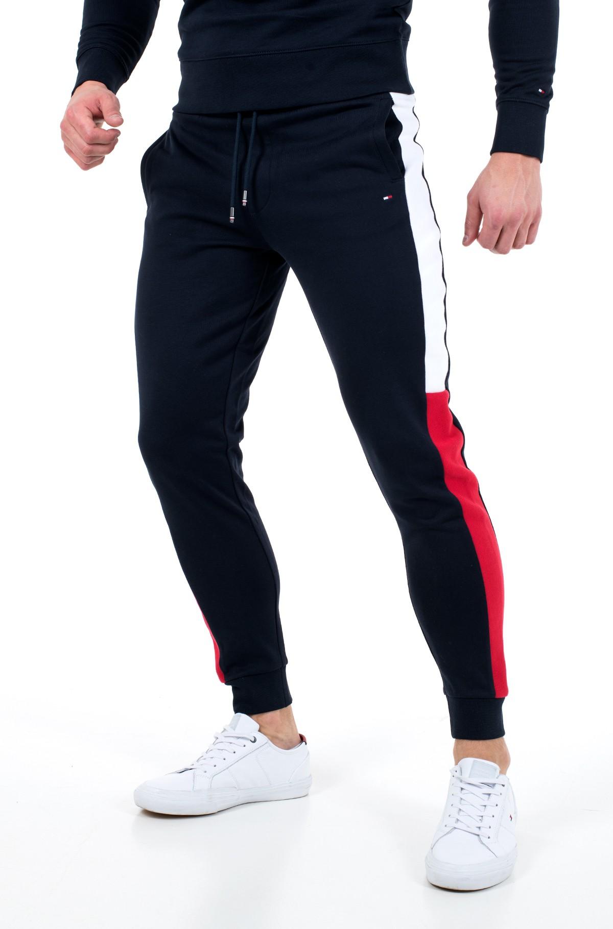 Sportinės kelnės INTARSIA SWEATPANTS-full-1