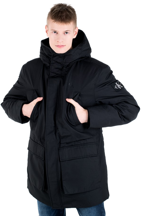 FAKE DOWN TECHNICAL PARKA