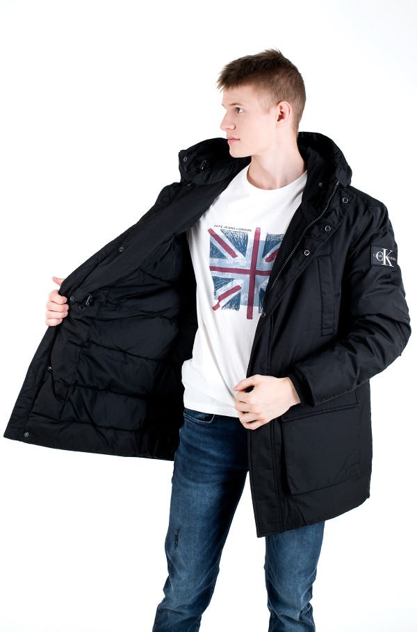 FAKE DOWN TECHNICAL PARKA-hover