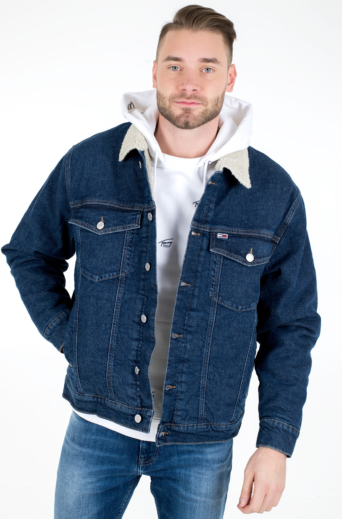 Denim jacket OVERSIZE SHERPA TRCKR JKT OLDBCF-full-1