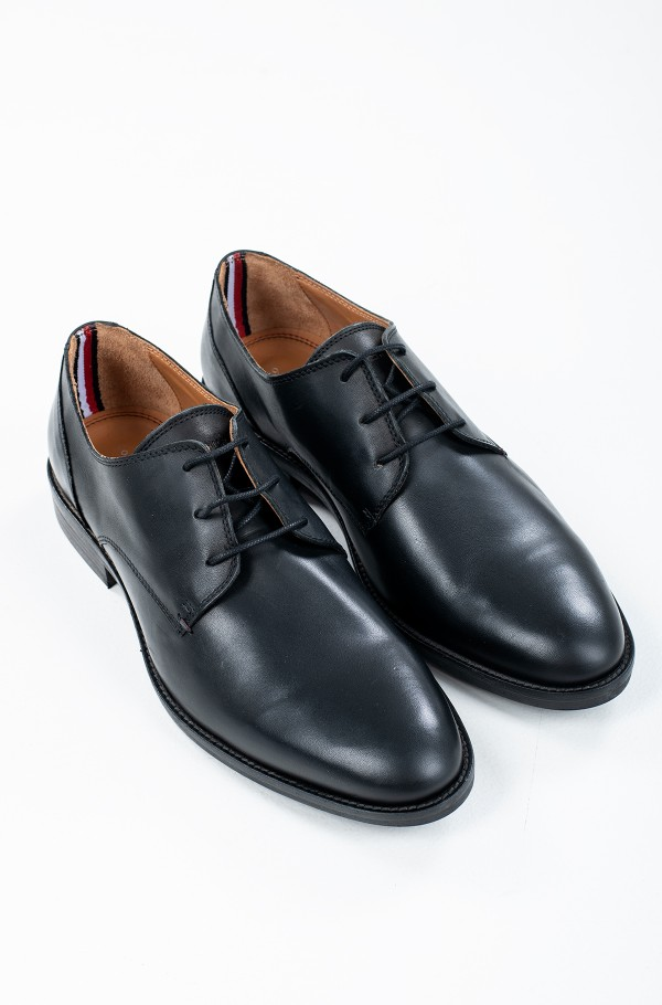 ESSENTIAL LEATHER LACE UP DERBY