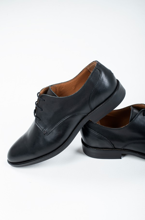 ESSENTIAL LEATHER LACE UP DERBY-hover