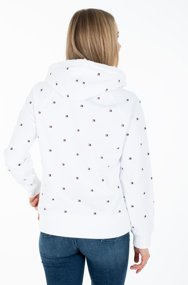 ALL OVER FLAG HOODIE-hover