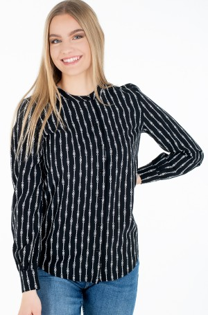 Triiksärk COLLARLESS REGULAR BLOUSE LS-1