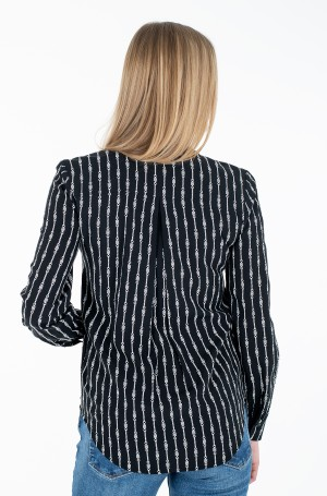 Triiksärk COLLARLESS REGULAR BLOUSE LS-2
