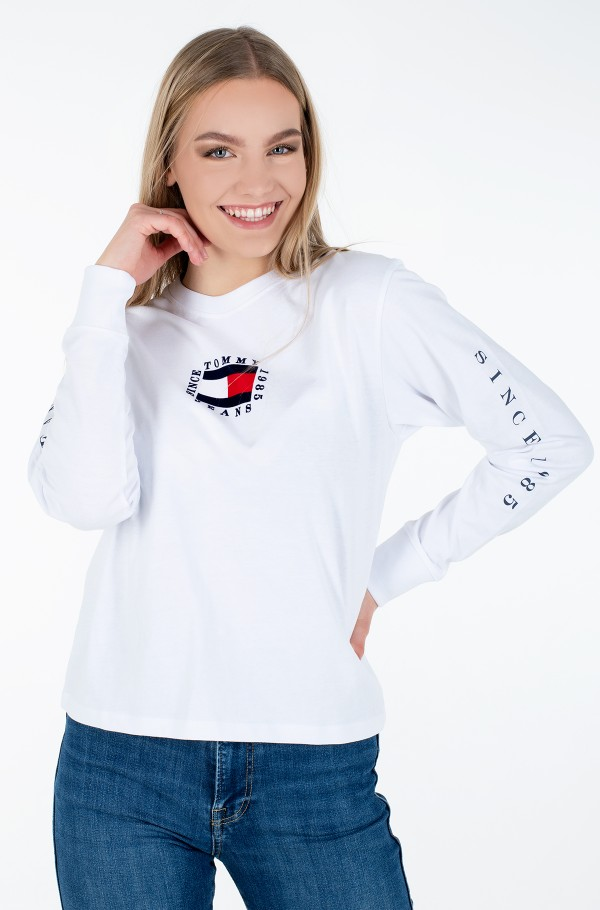 TJW TOMMY BOX FLAG LONGSLEEVE