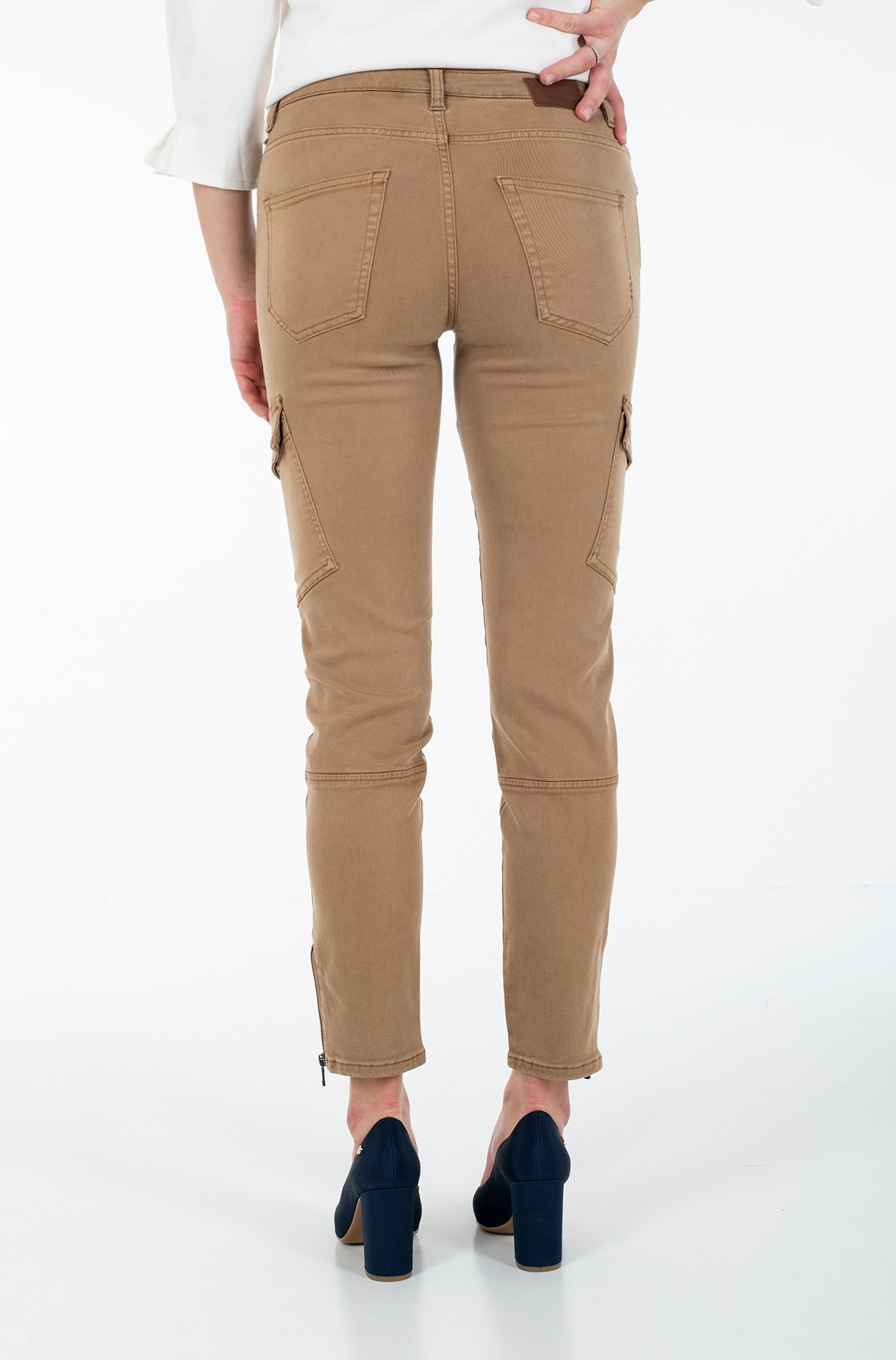 Fabric trousers 376005/4434-full-3