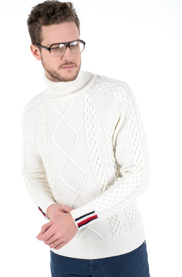 ICON CABLE ROLL NECK