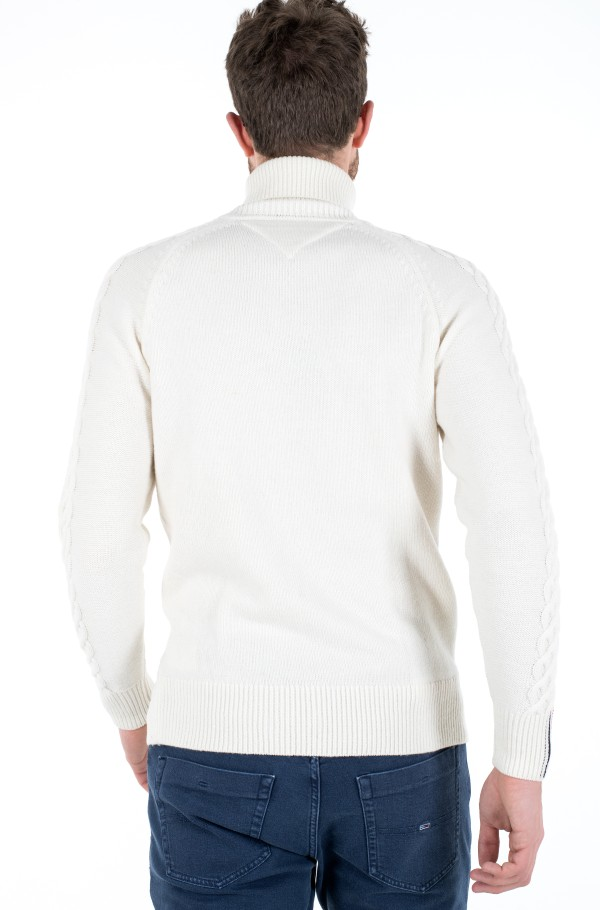 ICON CABLE ROLL NECK-hover