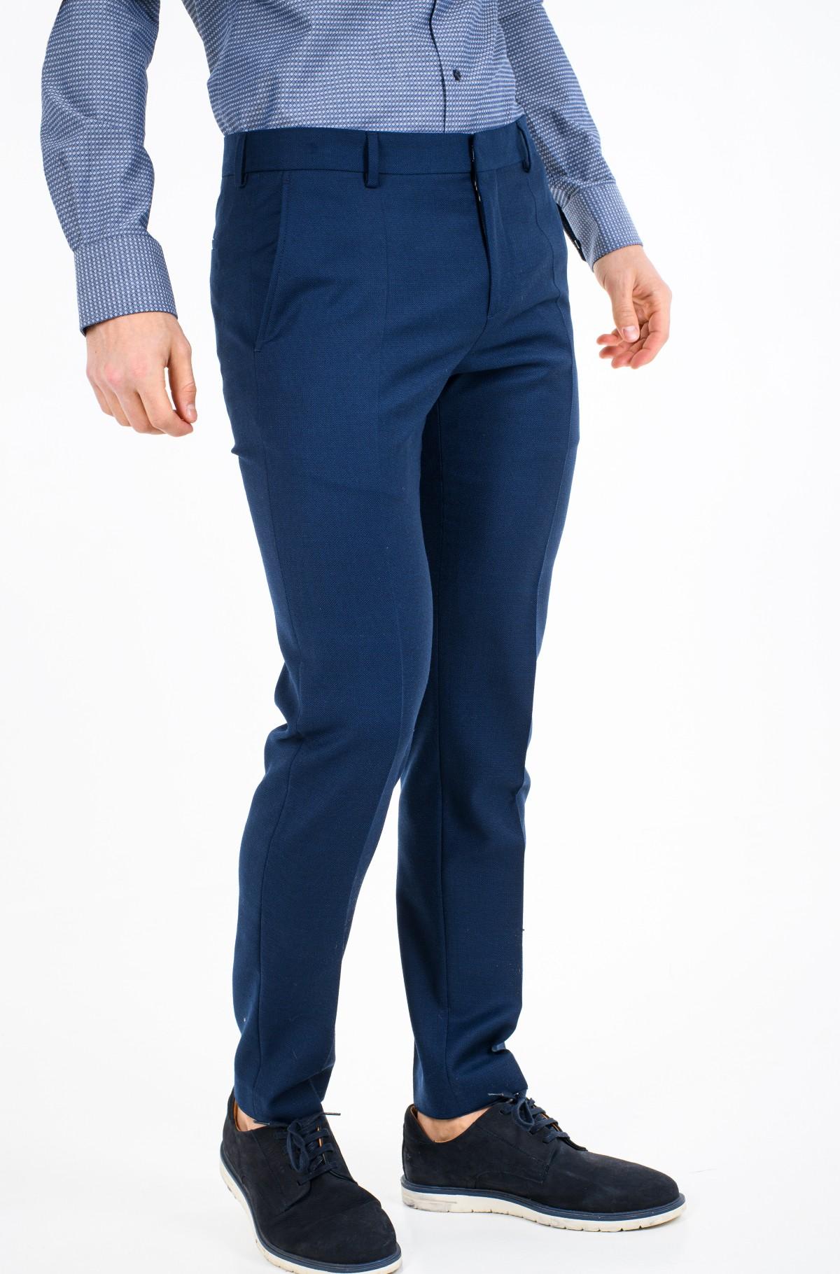 Fabric trousers FLEX BIRDSEYE SLIM FIT SEP PANT-full-1