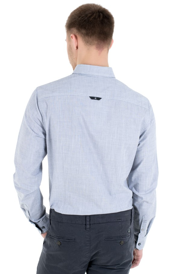 STRUCTURED SLIM STRETCH SHIRT-hover
