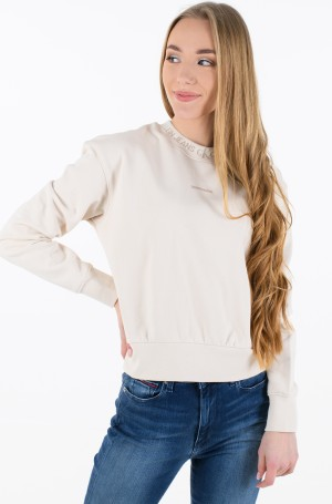 Sporta džemperis LOGO TRIM CREW NECK SWEATSHIRT-1