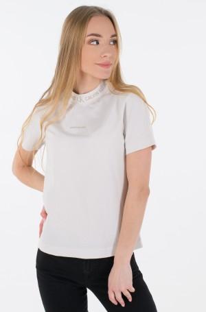 T-shirt LOGO INTARSIA TEE-2