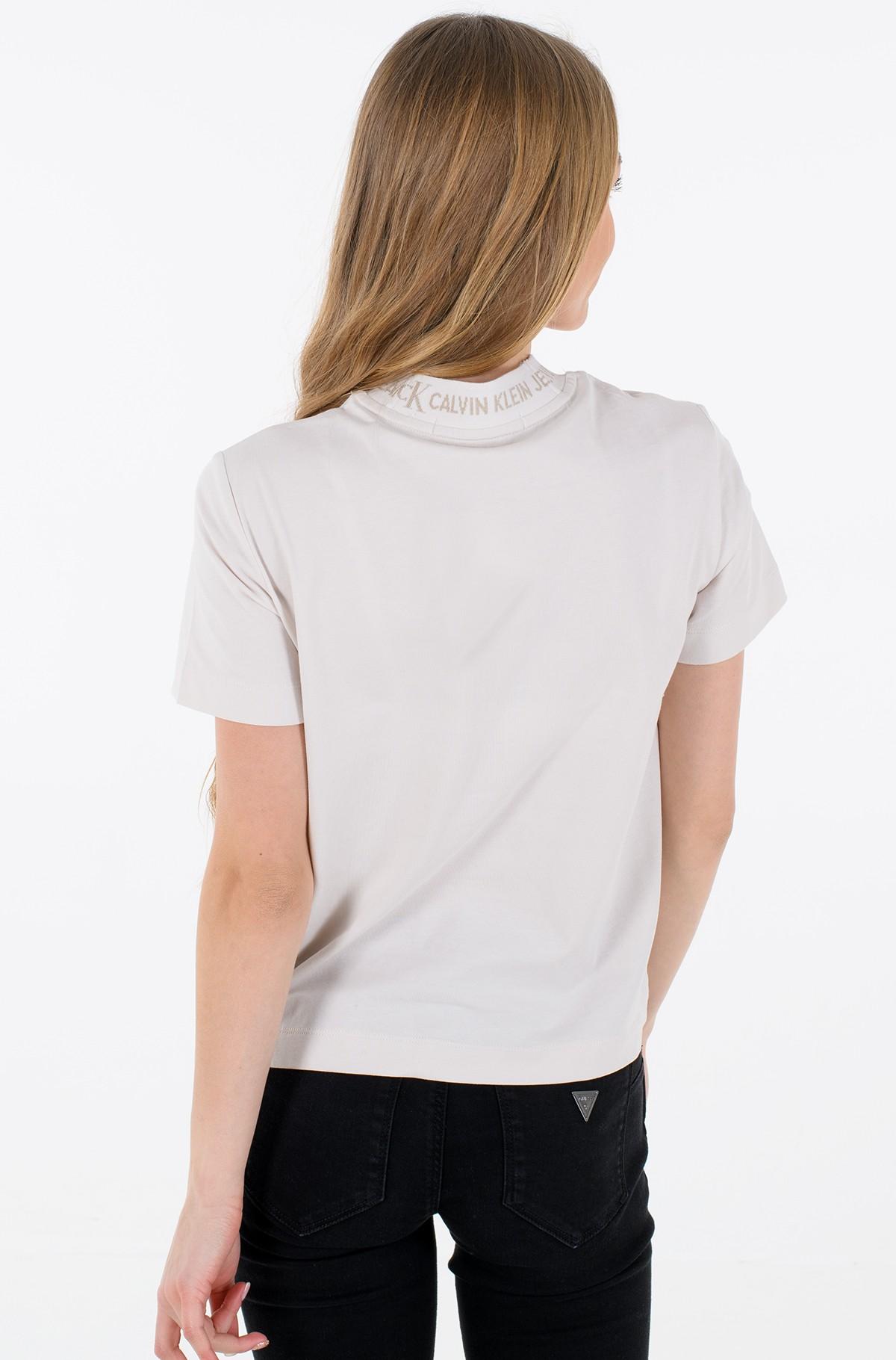 T-shirt LOGO INTARSIA TEE-full-3
