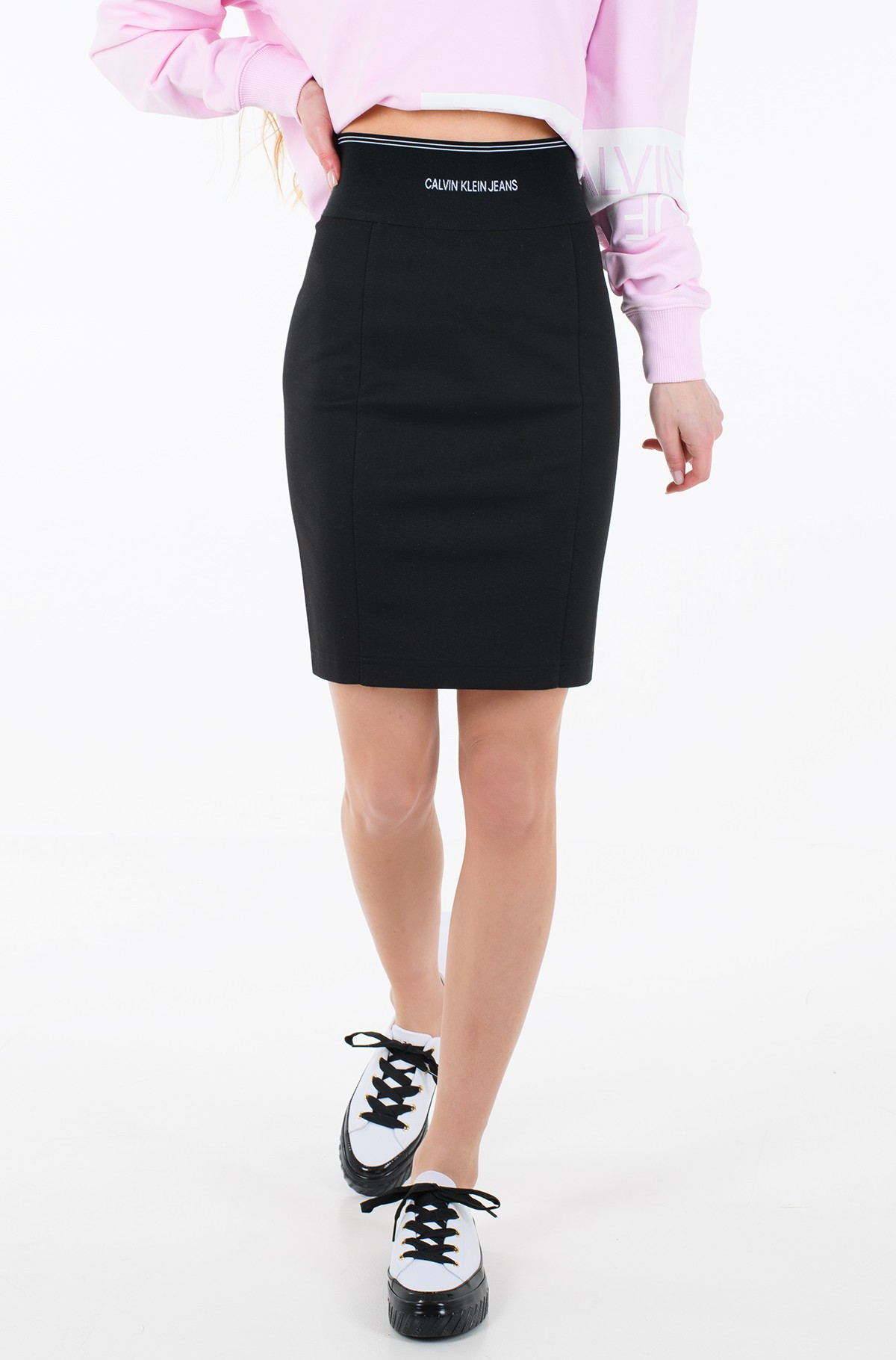 Seelik MILANO BODYCON ELASTIC SKIRT	-full-1