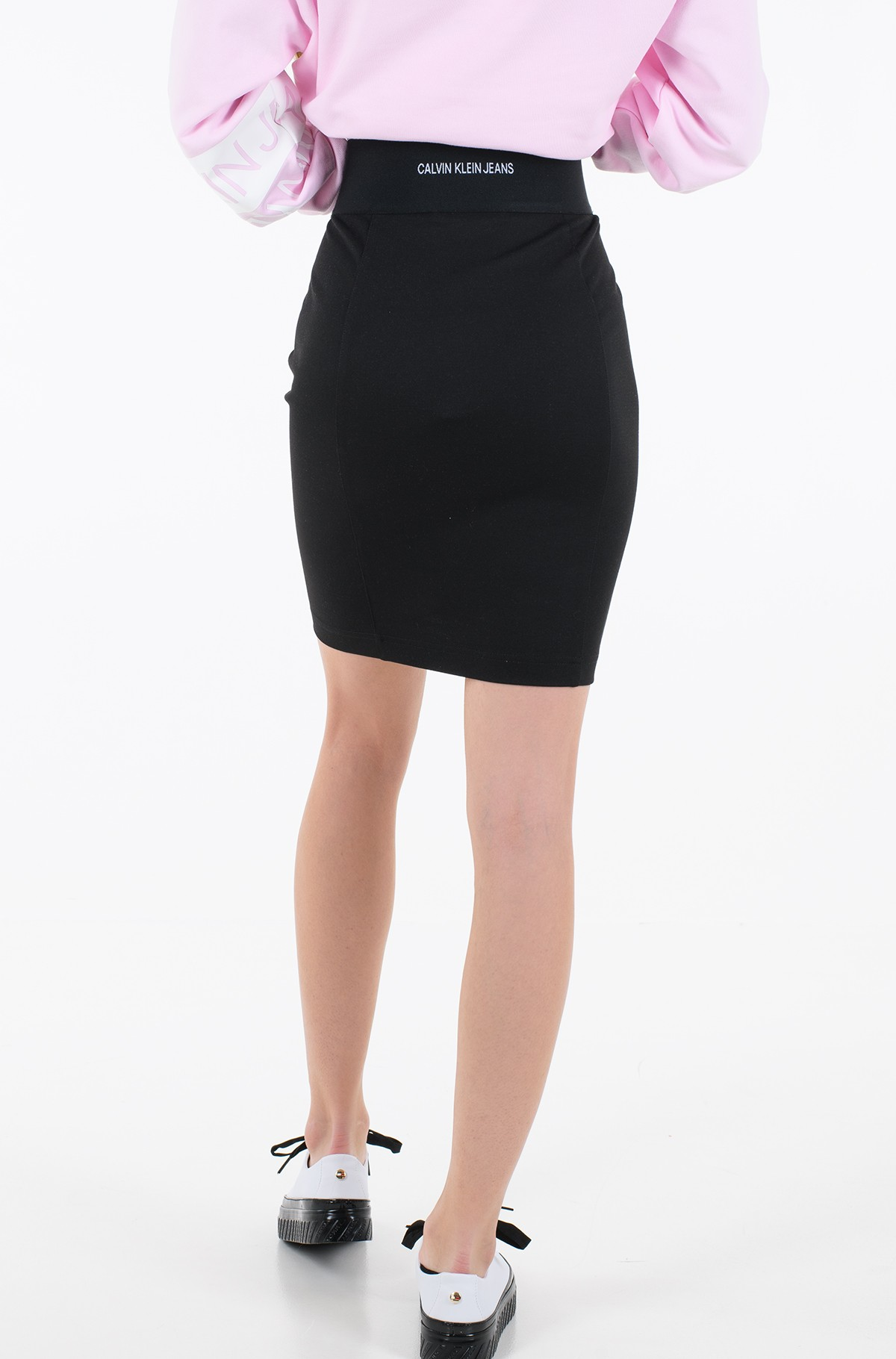 Seelik MILANO BODYCON ELASTIC SKIRT	-full-2