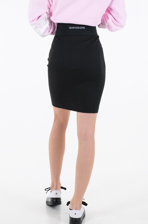 MILANO BODYCON ELASTIC SKIRT-hover