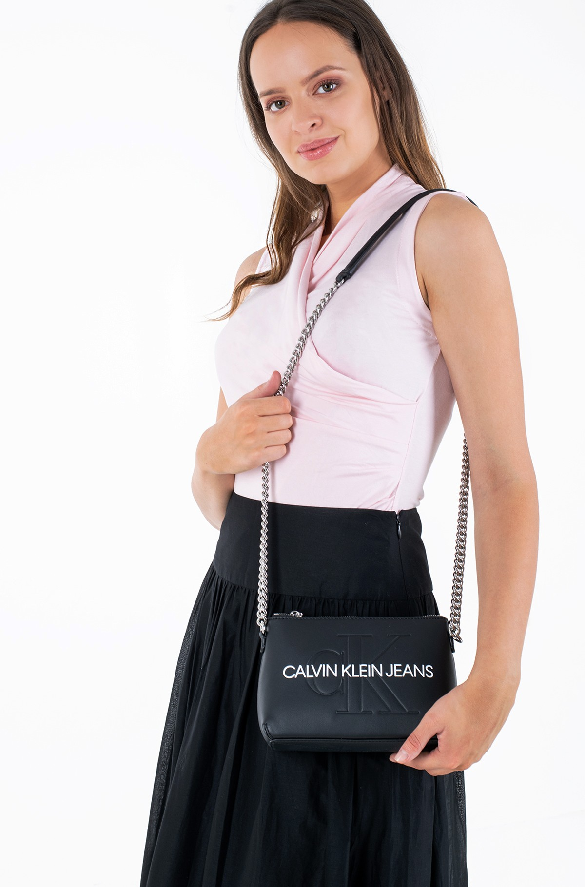 Shoulder bag CAMERA POUCH W/CHAIN -full-3