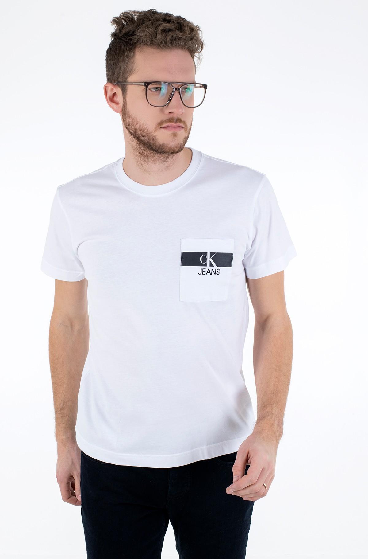 Marškinėliai HORIZONTAL CK POCKET TEE-full-1