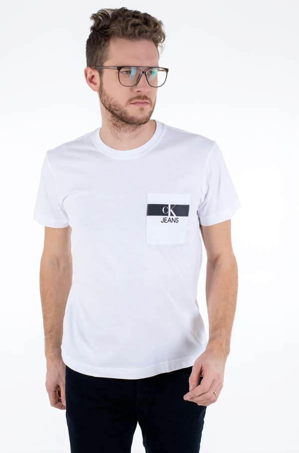 HORIZONTAL CK POCKET TEE