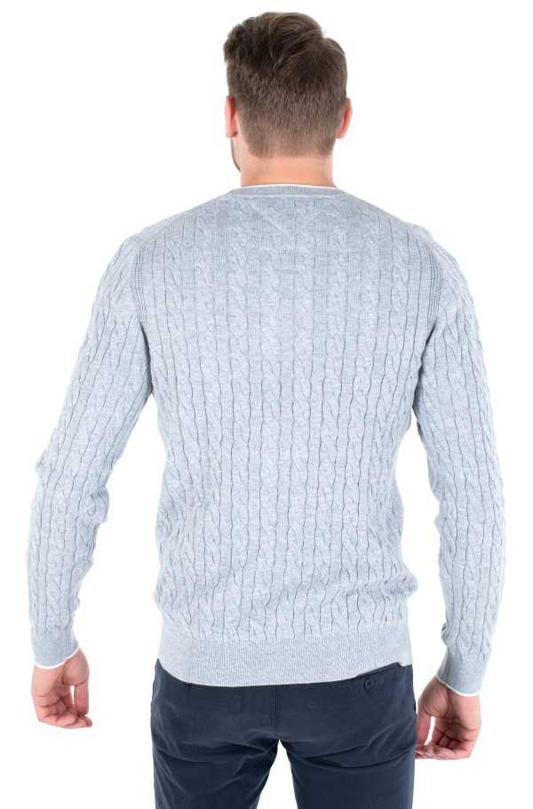 CABLE CREW NECK-hover
